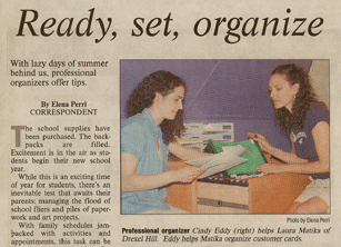 Cindy Eddy and The Organzing Team in the news and media